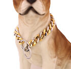 Pet-Dog-Collars-Choke-Gold-Silver-Cuban-Chain-Dog-Necklace-Stainless-Steel-15mm-