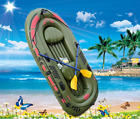New Inflatable  Seahawk  Boat Set 2/3 Person Oars Pump Fishing Raft PVC US Ship