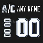 Tampa Bay Lightning 2001-08 Black Jersey Customized Number Kit un-sewn $34.99 USD on eBay