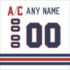Winnipeg Jets Customized Number Kit for 2016 Heritage Classic Jersey