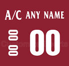 Arizona Coyotes 2014-15 Home Jersey Customized Number Kit un-stitched $29.99 USD on eBay