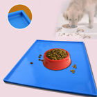 Pet Dog Cat Puppy Placemat Dish Bowl Feeding Food Mat Litter Tray Wipe Clean