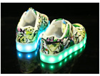 Led Glowing Sneakers For Boys Girls USB Charging Kids Shoes With Luminous Sole