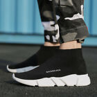 Men's Ultralight Fly-Knit Socks Shoes Sports Sneakers Elastic Breathable US11 12