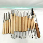 Pottery Clay Wax Sculpting Polymer Modeling Carving Tools Craft Kit Xmas Supply image