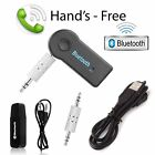 Bluetooth Audio Music Receiver Transmitter USB Empfänger Sender 3,5mm Klinke AUX