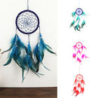 New Handmade Dream Catcher Ornament with Feathers Beads Wall Hanging Decoration