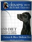 Dave's Restricted Diet Bland Chicken And Rice Canned Dog Food
