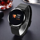 Men Women Waterproof Bluetooth Smart Watch Phone Mate For Android iPhone Samsung