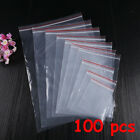PE Pouch Packaging Zipper Jewelry Zip Bags Ziplock Bag Poly Clear Plastic
