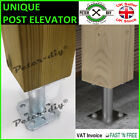 'Heavy Duty Galvanised Bolt Down Base Post Support Fence Foot Base 80-100 Mm