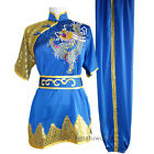 Silk Embroidery Changquan Uniform Kung fu Martial arts Suit Tai chi Clothing