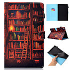 """For Amazon Kindle Fire HD 8"""" 2018 8th HD 10 2017 Smart Wallet Leather Case Cover"""
