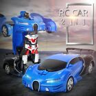 Transformation Robots Cars Electric RC Car Transformer Cars Remote Control Cars