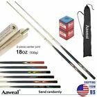 SET OF POOL CUES New Two-Piece Billiard House Pool Cues Stick