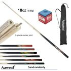 """Set of Pool Cues 58"""" 2-Piece Billiard House Snookers Cue Sticks With 9.5mm Tips"""