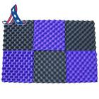 6 Pack Egg Crate Foam Acoustic Foam Tiles Soundproofing Foam Panels Sound Insula