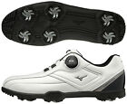 Mizuno Japan Golf Shoes Lite Style 003 Boa Wide Soft Boots 51GM1960 White Black