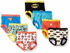 Justice League Boys Training Pants 7-Pack Briefs Sizes 2T, 3T, 4T
