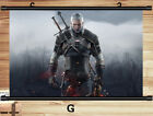 Scroll Cloth Poster Game Paintings Wall Decoration For The Witcher 3