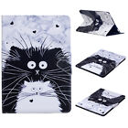 For Apple iPad Mini 1 2 3 4 Smart Leather Wallet Stand Flip Patterned Case Cover