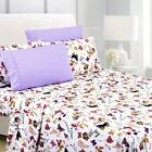 American Home Collection Premium 6-Piece Printed Sheet Set - Wrinkle Free