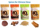 Chuang Chia Pepper Star Anise Cinnamon Coriander Seed Spices Chinese Stew 100g.