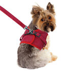 Mesh Small Dog Harness Step-in Puppy Harness Leash Set Pet Soft Jacket Vest #LK3