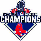 Boston Red Sox 2018 World Series Champions Decal / Sticker Free Shipping (a) on Ebay