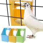 ^Mini Pet Pigeons Water Feeder Hanging Drinking Pot Bird Cage Water Dispenser UK
