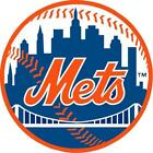 New York Mets Logo Full Color Vinyl Decal / Sticker 4 Sizes