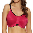 PLUS SIZE SPORTS BRA - Elomi Energise High Impact Multiway - Pomegranate (8041)