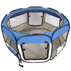 Pet Enclosure Puggy Dog Cat Playpen Tent Portable Fence Kennel Cage Crate
