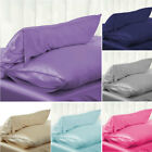2019 Queen/Standard Silk~y Satin Pillow Case Bedding Pillowcase Smooth Home image