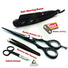 Professional Barber Salon Kits Hair Dressing Scissor Hair Shaving Razors Shear