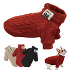 Warm Dog Knitted Sweater Jumper Pet Winter Clothes Small Large Dogs Knit Apparel