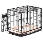 ProValu Single-Door Dog Crate in Black with 5 point locking system.fast shipping