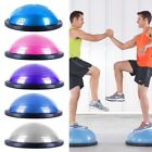 "23"" Yoga Half Ball Balance Exercise Trainer Fitness Strength Workout Free Pump image"