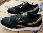 REEBOK CLASSIC NYLON MEN'S  BLACK/MATTE GOLD/WHITE DV6593
