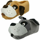 Boys Or Girls X2R073 Novelty Dog Slippers By Eaze