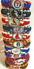 Major League Baseball MLB Team Logo Paracord Bracelet Wristband on Ebay