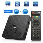 Android 8.1 Smart TV BOX WiFi Quad Core Media Player 4K HDR With Remote HK 1