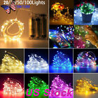 Copper Wire AA Battery Operated LED Fairy String Light for Christmas Holiday
