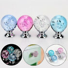 1PC Wardrobe Crystal Bubble Ball Drawer Pull Knob Furniture Cabinet Pull