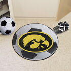 NCAA Soccer Mat Round Area Rug Choose Your Team