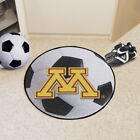 NCAA Soccer Mat Round Area Rug Choose From 52 Teams