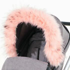 Pram Fur Hood Trim Attachment For Pushchair Compatible With Teutonia
