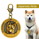 Dog ID Tag Engraved Personalized Metal Pet Dog Custom Puppy Cat Name Tags Collar