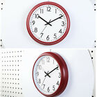 1pc Dial Decorative Silent Simple Battery Operated Hanging Wall Clock for Office