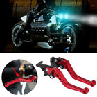Pair Eye catching 22mm CNC Aluminum Motorcycle Clutch Brake Lever Handle SYF